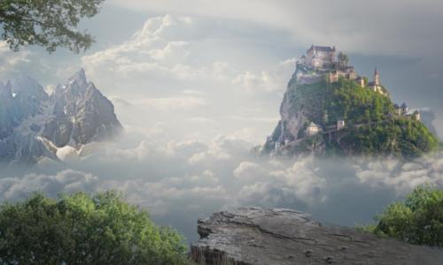 montagnes fantastiques