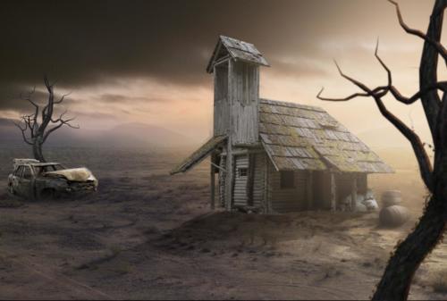 maison abandonée